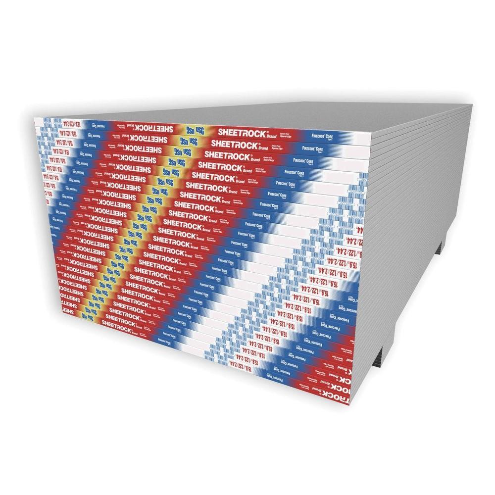 Usg Sheetrock Brand 5 8 In X 4 Ft 12 Firecode Panels