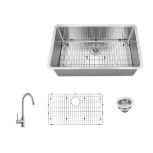 Glacier Bay All in One Dual Mount Stainless Steel 33 in 2 Hole