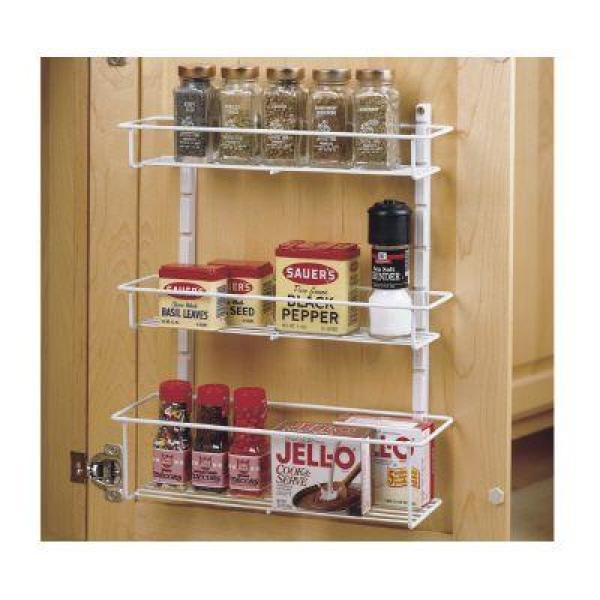 The Door Spice Rack 73996, Spice Rack For Kitchen Cabinet Door