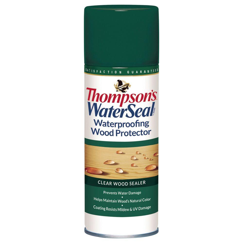 Thompson 39 S Waterseal 11 Oz Clear Waterproofing Wood Protector Aerosol Spray The