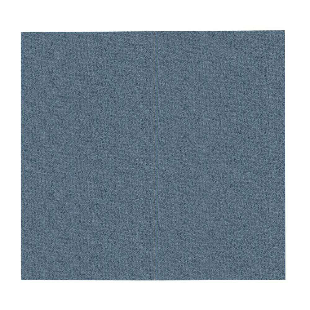 SoftWall Finishing Systems 64 sq. ft. Quarry Blue Fabric Covered Full Kit Wall Panel