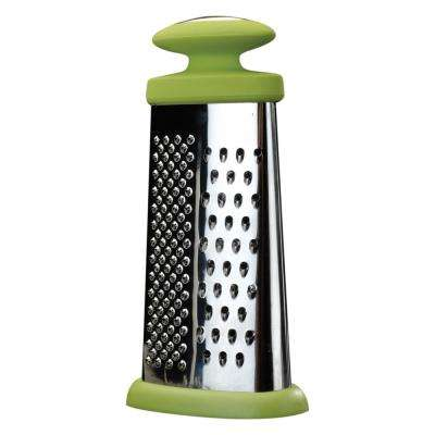 Cook and Co Stainless Steel 9 in. Four Sided grater