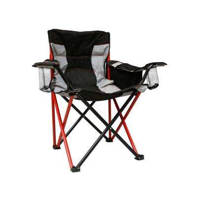 Elite Quad Red Patio Chair