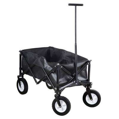 17 in. W 3 cu. ft. Steel Folding Cube Wagon