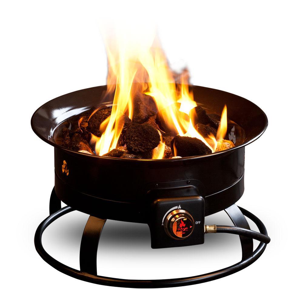Standard 19 in. Steel Portable Propane Fire Pit