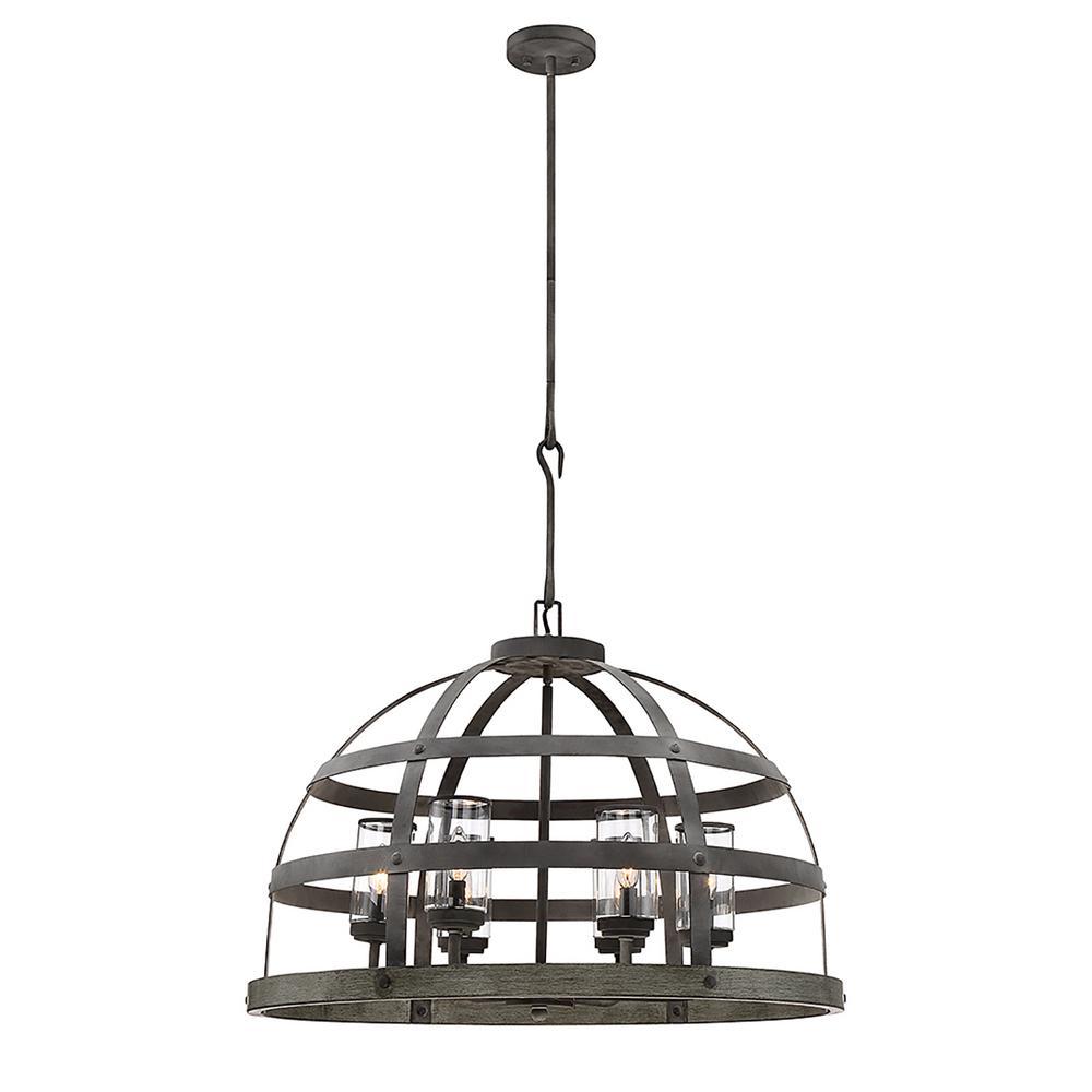 Filament Design 6-Light Winterwood Pendant