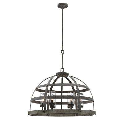 6-Light Winterwood Pendant