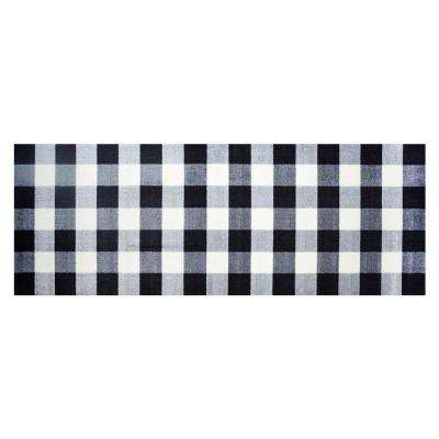 In-Home Washable/Non-Slip Buffalo Check 2 ft. 3 in. x 6 ft. 3 in. Area Rug & Mat