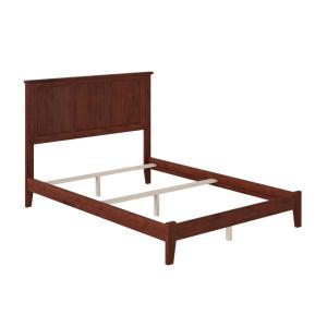 Madison Walnut Full Traditional Bed