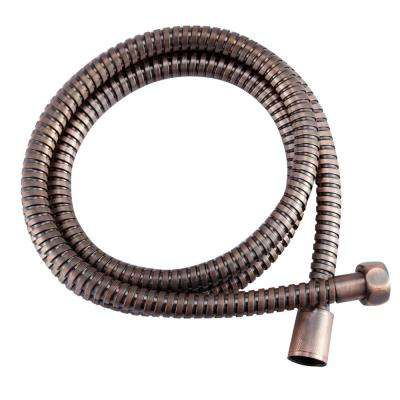 60 in.  Stainless Steel RV Shower Hose in Oil Rubbed Bronze