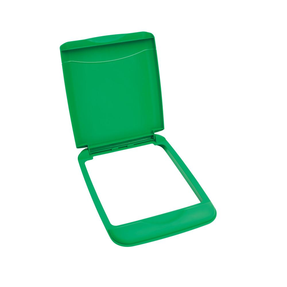 365586730fe0 Rev-A-Shelf 1.75 in. H x 10.35 in. W x 14.12 in. D 35 Qt. Green Waste  Container Recycling Lid