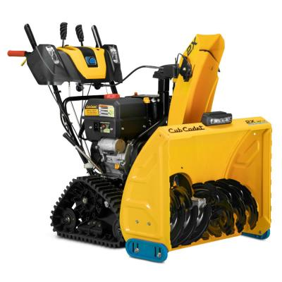 2X 30 in. 357 cc Track Drive Two-Stage Electric Start Gas Snow Blower with Steel Chute, Power Steering and Heated Grips