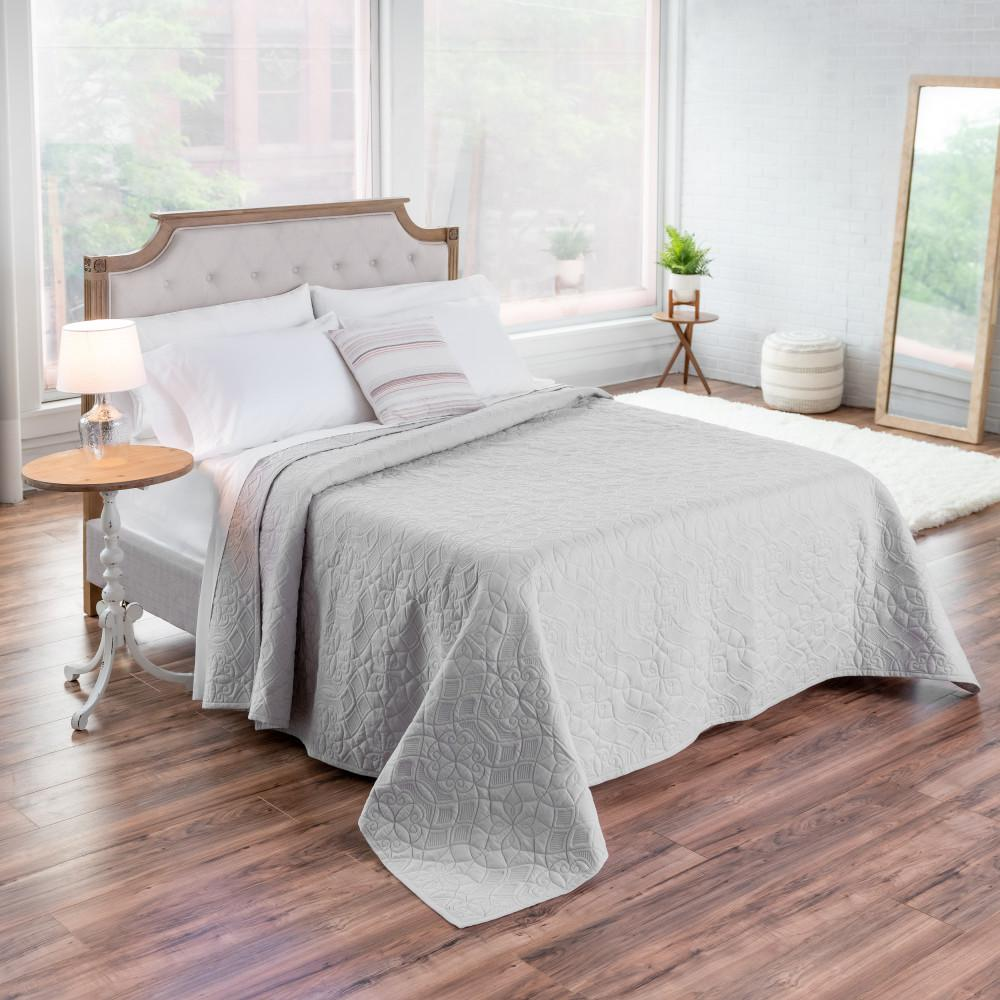 WELHOME The Aidan Cotton Gray Full/Queen Quilt was $180.99 now $99.54 (45.0% off)