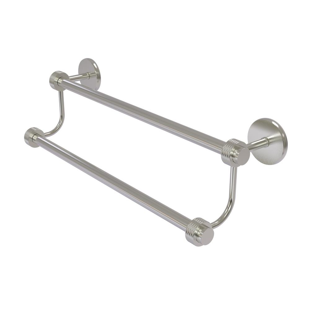 Satellite Orbit Two 24 in. Double Towel Bar with Groovy Accent