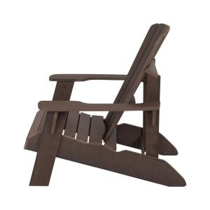 Awesome Lifetime Rustic Brown Adirondack Chair 60289 The Home Depot Machost Co Dining Chair Design Ideas Machostcouk