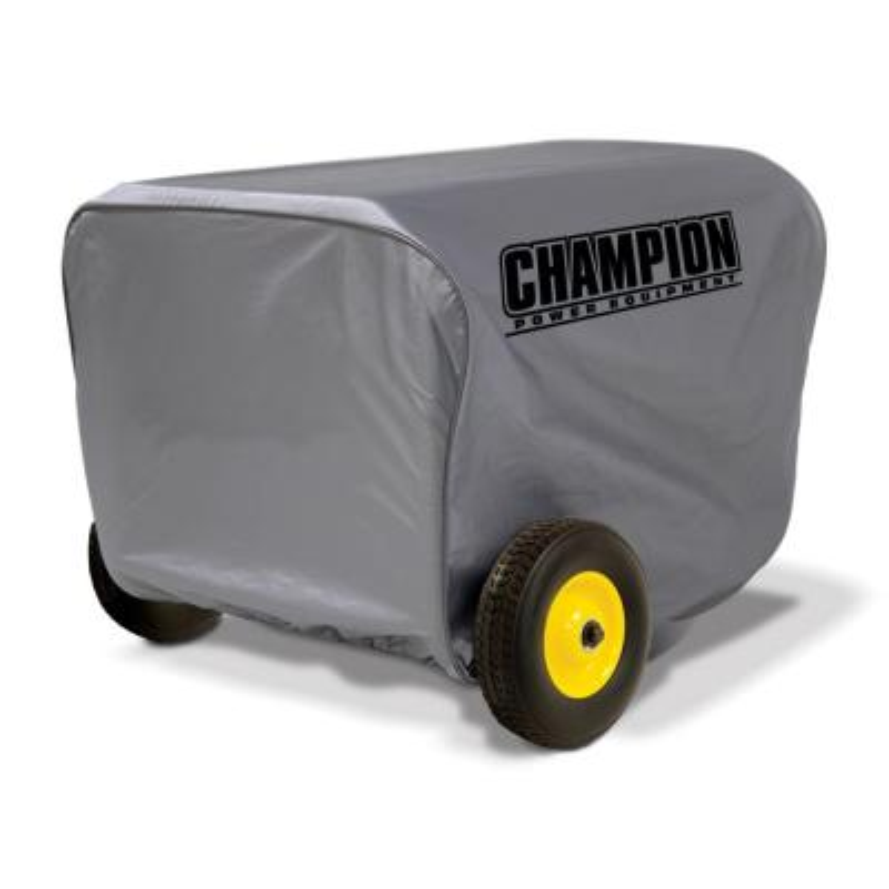 Large Weather Proof Custom Made Vinyl Generator Cover