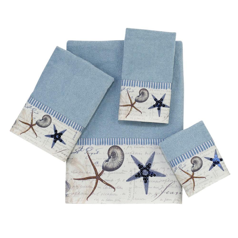 Avanti Linens Antigua 4-Piece Bath Towel Set in Bluefog 03571S BFG