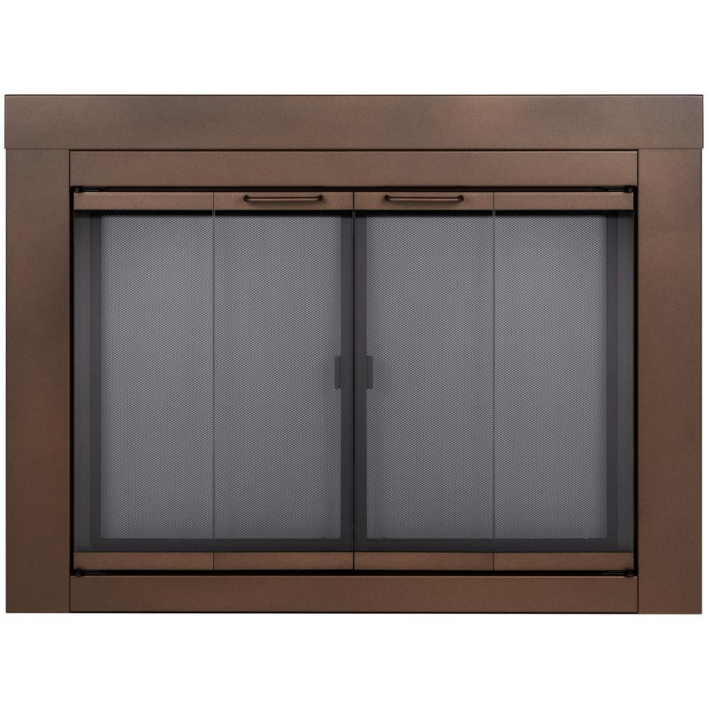 Abberly Small Glass Fireplace Doors