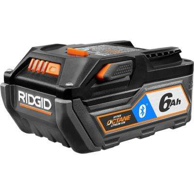 18-Volt OCTANE Bluetooth 6.0 Ah Battery