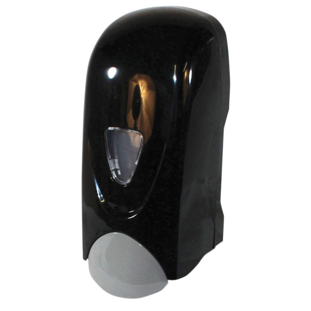 Refillable Foam Soap Dispenser Manual In Black And Gray