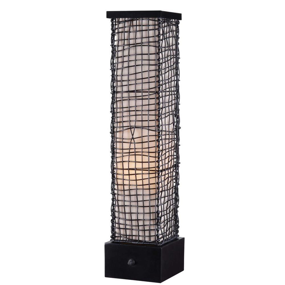 Kenroy Home Trellis 30 in. Bronze Outdoor Table Lamp