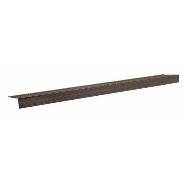 TH083 4.5 in. x 1.5 in. x 72 in. Bronze Sill Nosing Weatherstrip