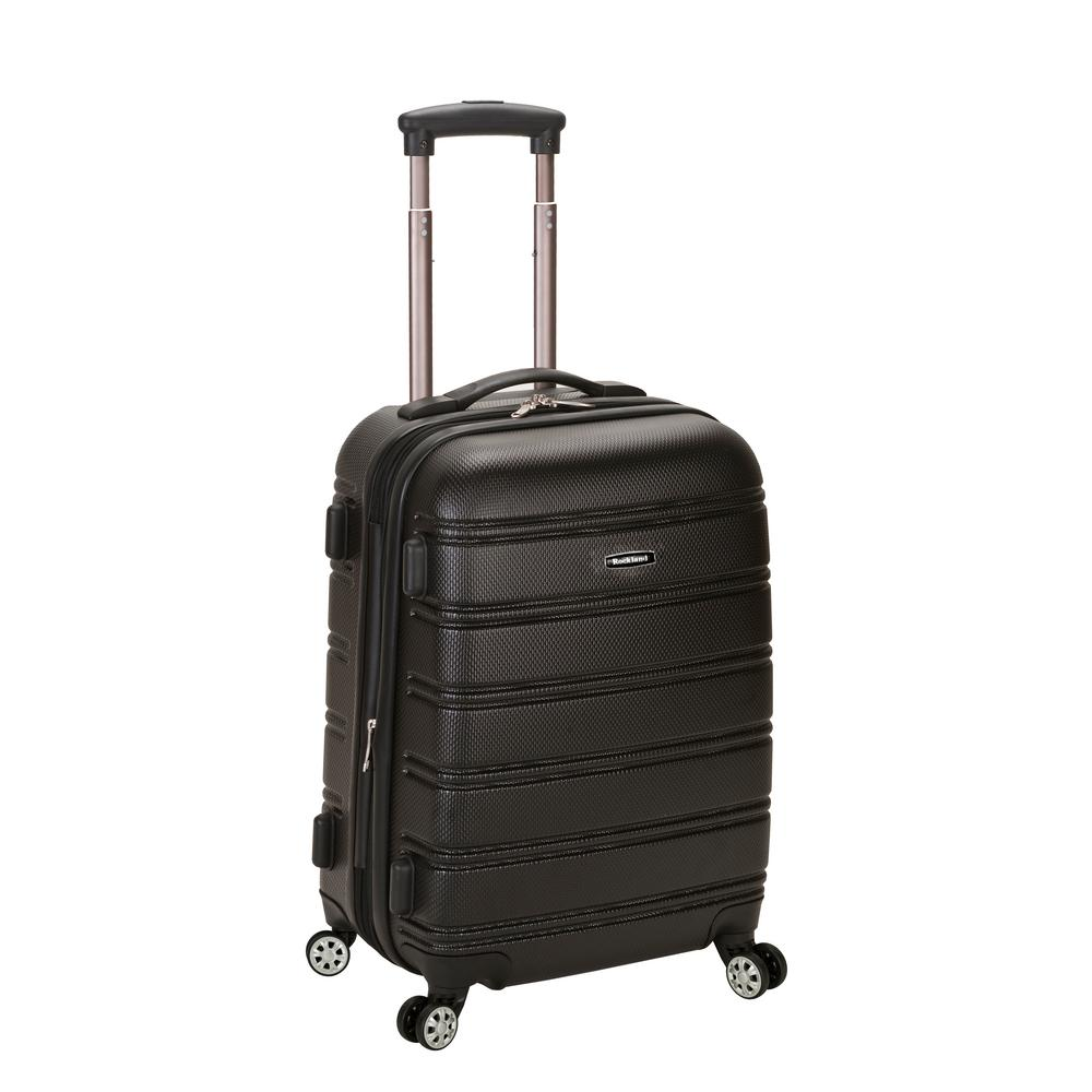 Rockland Melbourne 20 in. Expandable Carry on Hardside Spinner Luggage, Black was $120.0 now $58.8 (51.0% off)