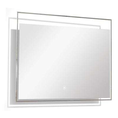 Taylor 31.5 in. x 23.62 in. Single Frameless LED Mirror