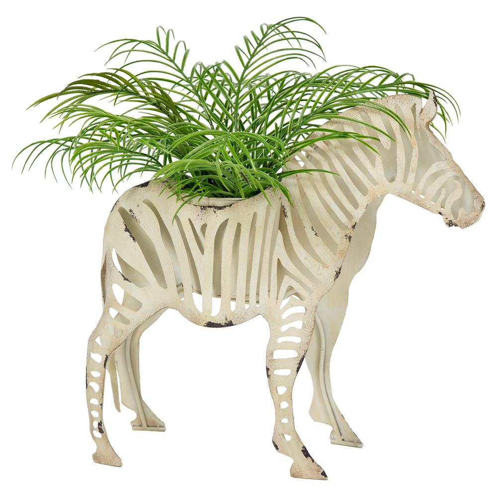 Bombay Outdoors Sukari Zebra Planter-A100065 - The Home Depot