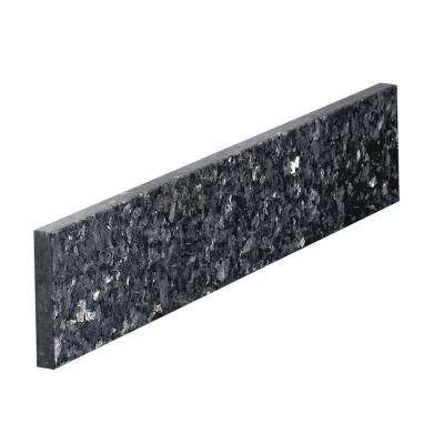 21 in. Pearl Granite Sidesplash in Blue