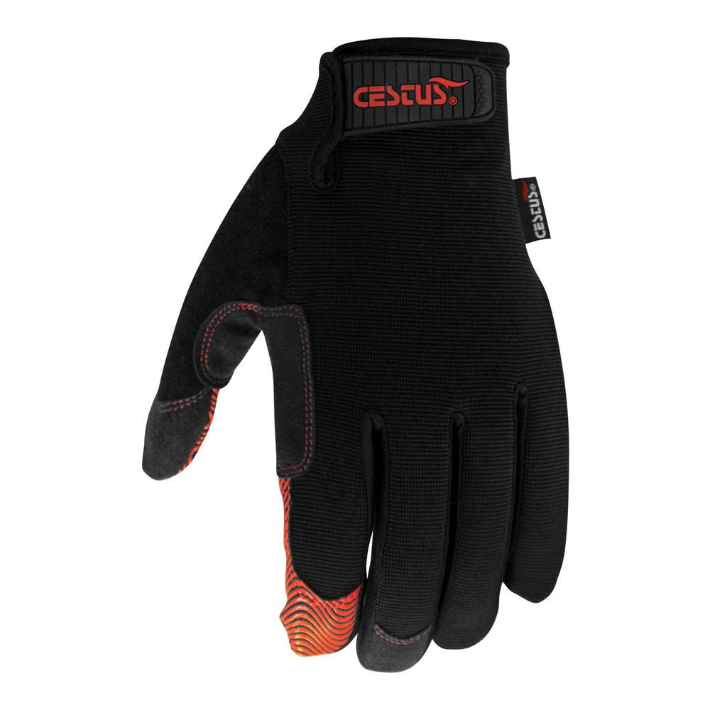 Medium Black Boxx Gloves