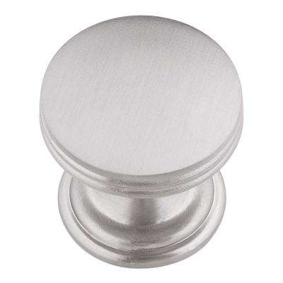American Diner 1 in. Stainless Steel Cabinet Knob