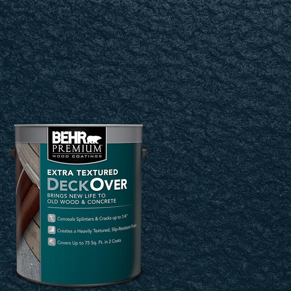 Behr premium extra textured deckover 1 gal sc 101 - Exterior textured paint home depot ...