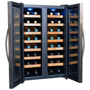Click here to buy NewAir 32-Bottle Dual-Zone Thermoelectric Wine Cooler by NewAir.