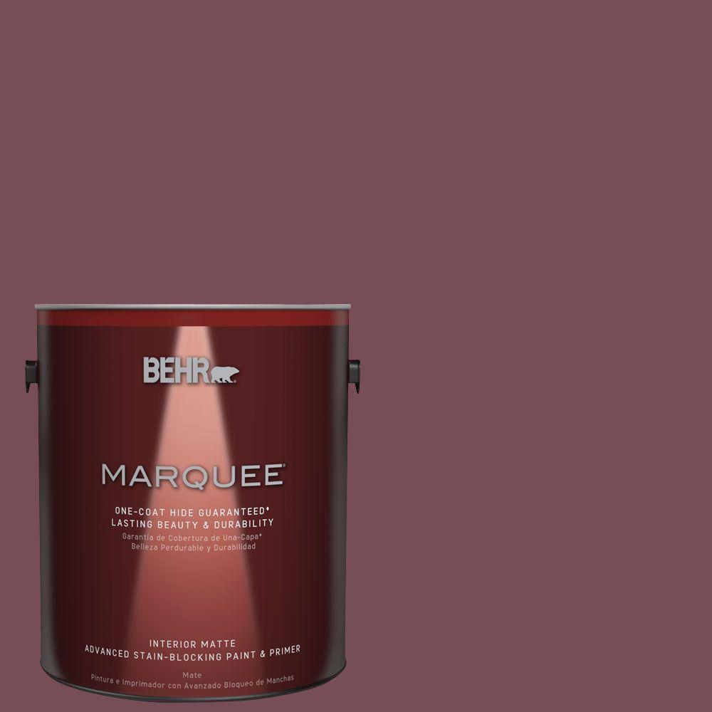 1 gal. #MQ1-1 Rule Breaker One-Coat Hide Matte Interior Paint