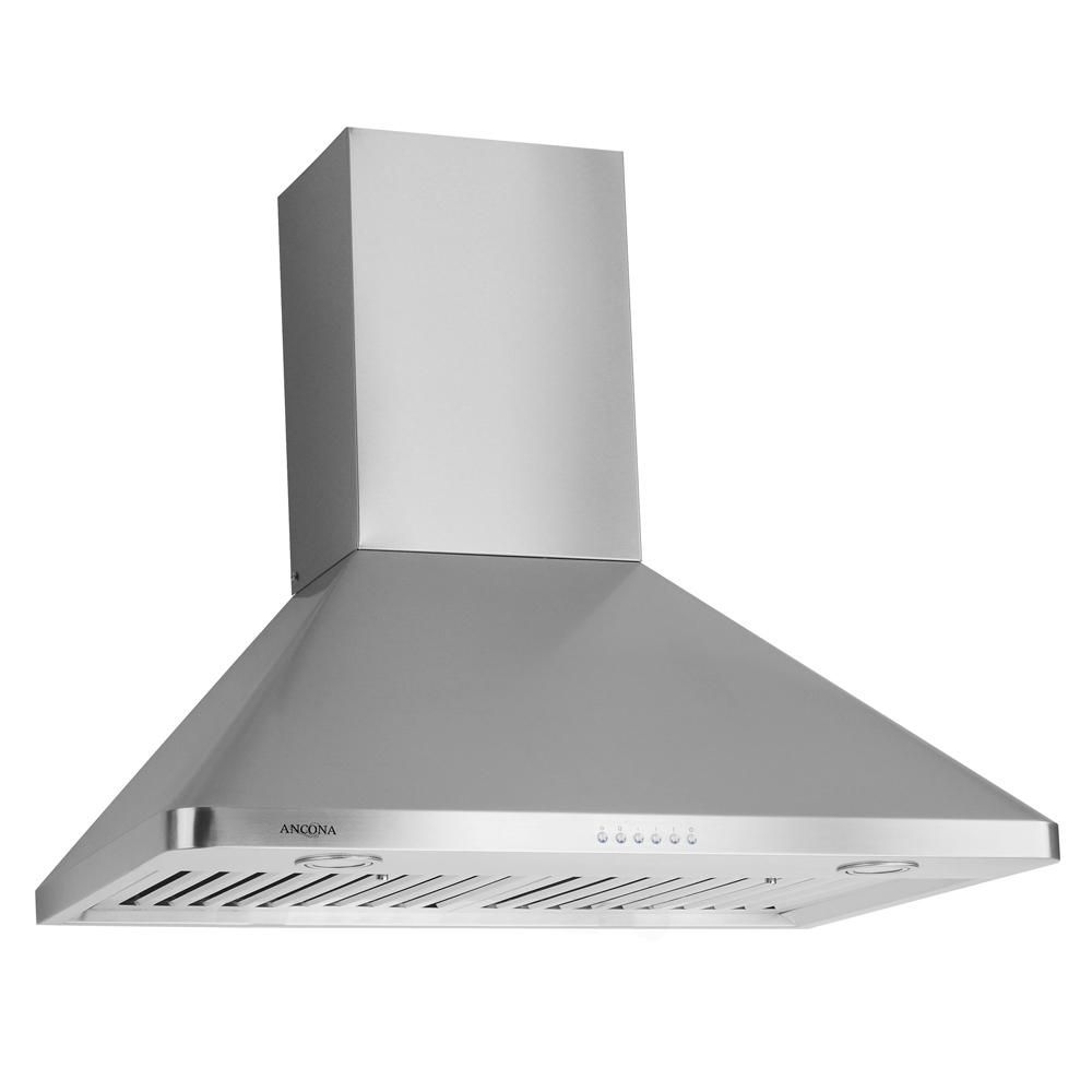 WPC630 30 in. Wall Mount Range Hood with LED in Stainless