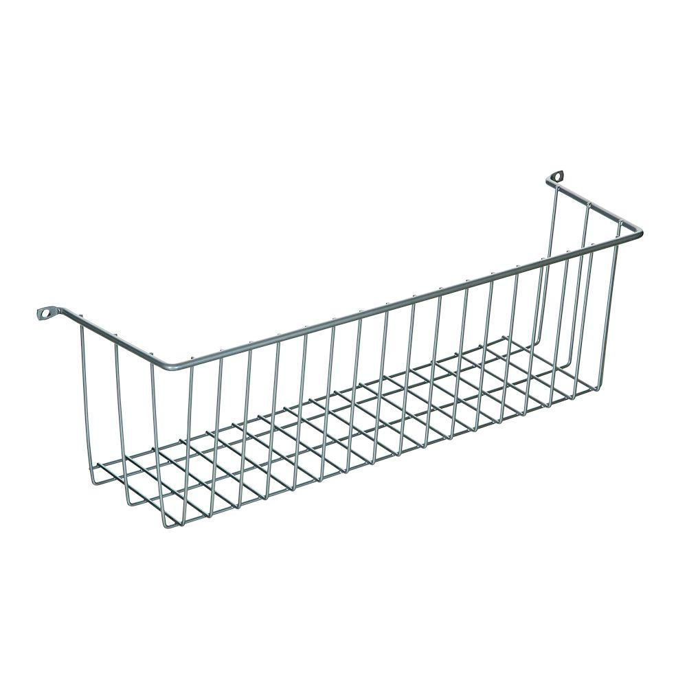 More Inside Medium 3 Sided Wall Mount Wire Basket
