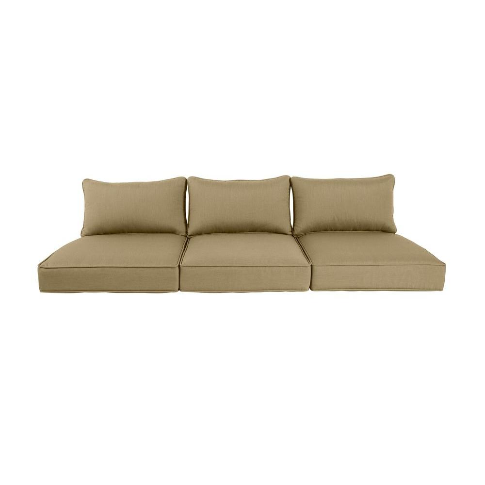 Genial Brown Jordan Greystone Meadow Replacement Outdoor Sofa Cushion