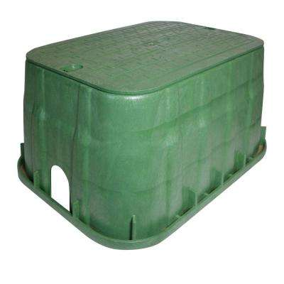 Pro Series 13 in. x 20 in. Jumbo Valve Box and Cover - ICV