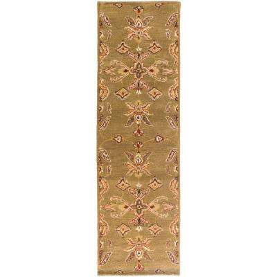 Middleton Grace Moss 2 ft. x 14 ft. Indoor Runner Rug