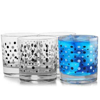 Istanbul 10.25 oz. Double Old Fashioned Glass (4-Pack)