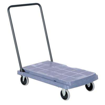 500 Capacity Platform Truck with Fold Down Hand