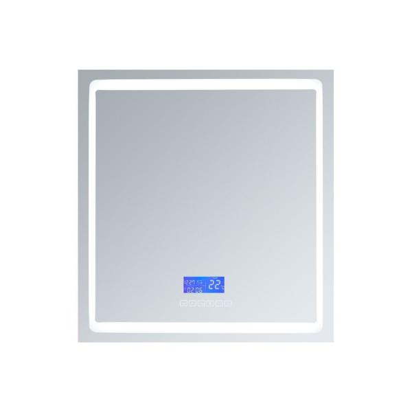 Bracciano 24 in. W. x 32 in. H. Recessed or Surface-Mount LED Medicine Cabinet with Defogger