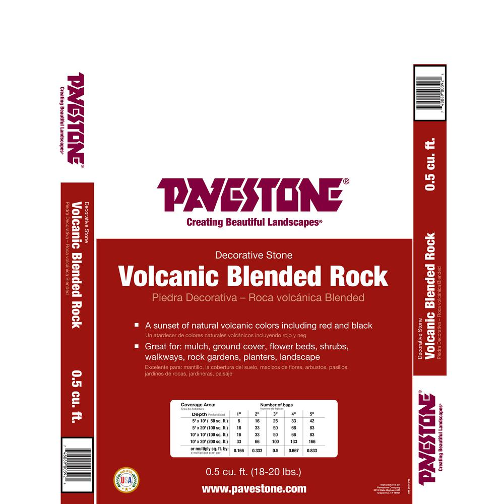 0.5 cu. ft. Blended Volcanic Rock