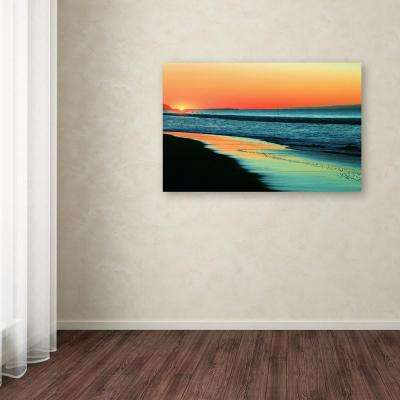 """30 in. x 47 in. """"Good Morning Sunshine"""" by Beata Czyzowska Young Printed Canvas Wall Art"""