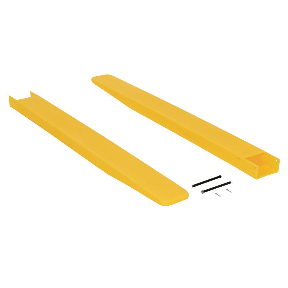 4 in. x 48 in. Fork Blade Protectors Polyethylene