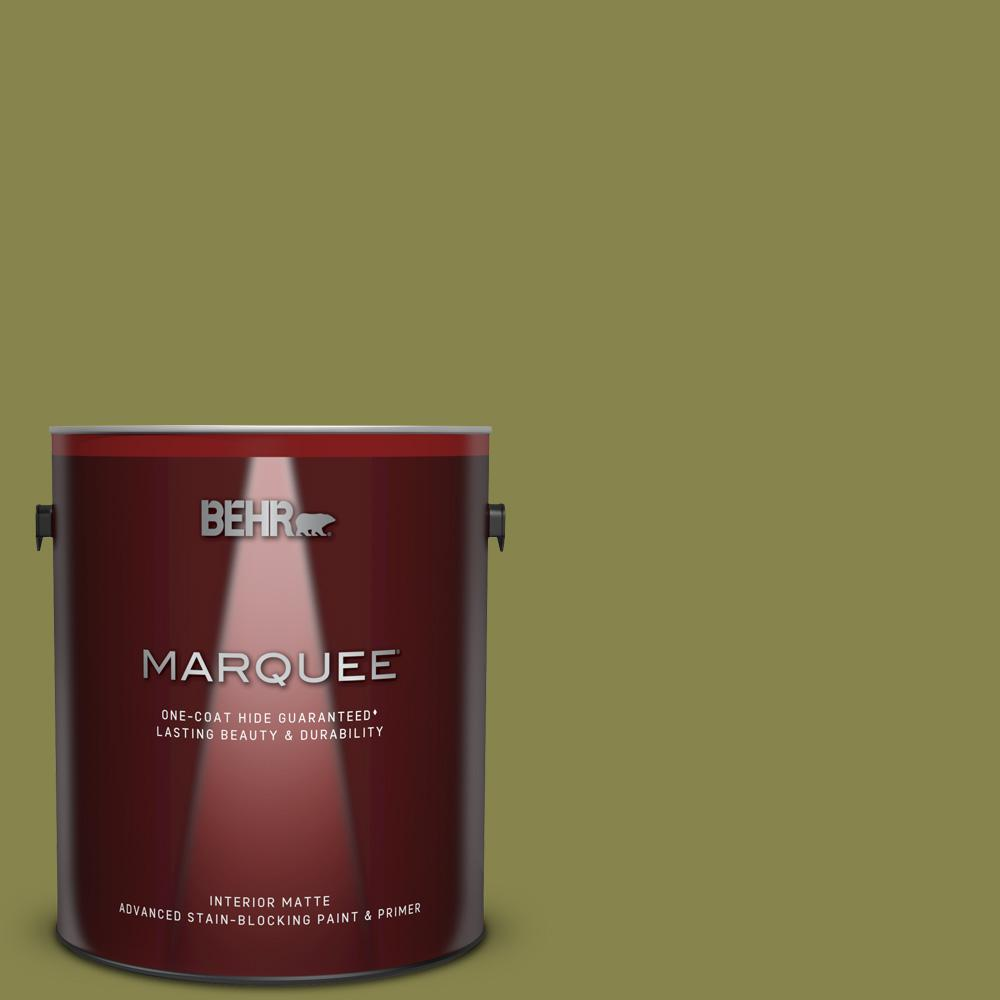 T15 18 Snap Pea Green Matte Interior Paint And Primer In One