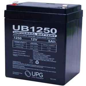 UPG 12-Volt SLA F1 Terminal AGM Battery by UPG