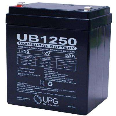 12-Volt SLA F1 Terminal AGM Battery
