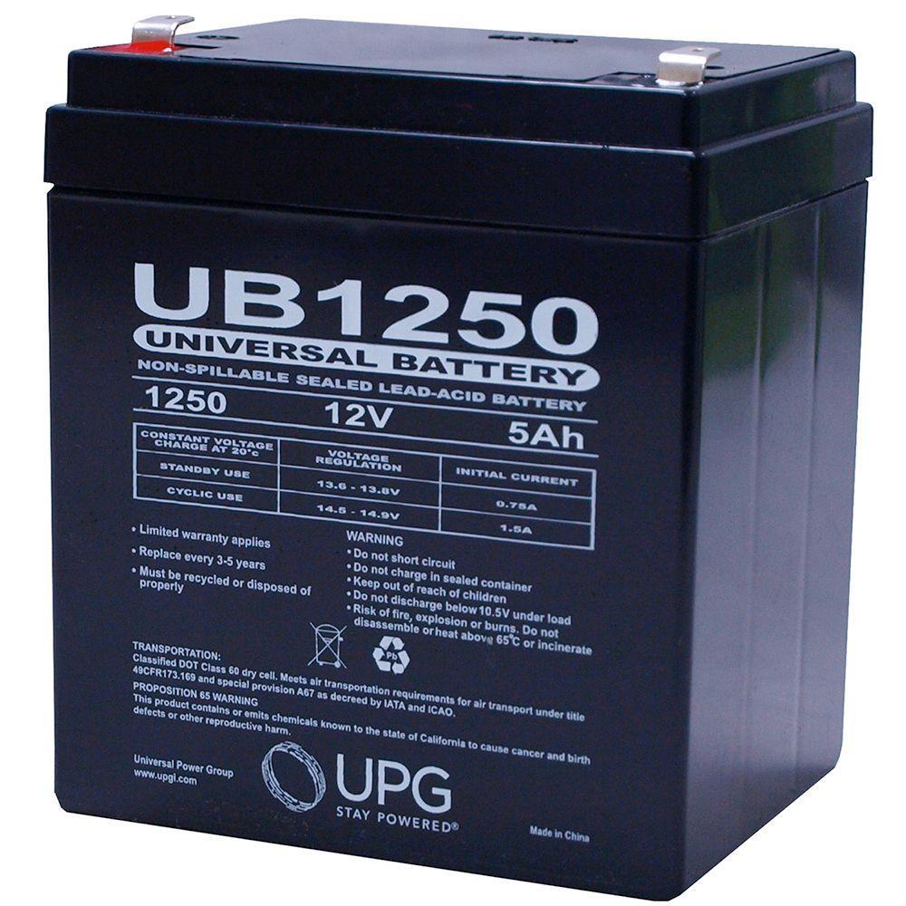 UPG SLA 12-Volt F1 Terminal AGM Battery